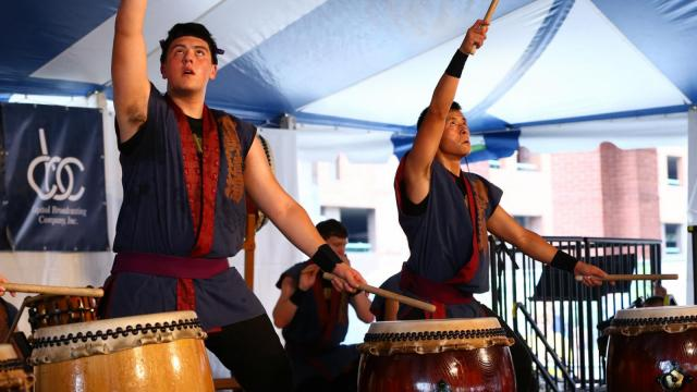 Thousands attended The 75th National Folk Festival in Greensboro N.C. hosting talent from across the U.S. and beyond. (Chris Baird / WRAL Contributor).