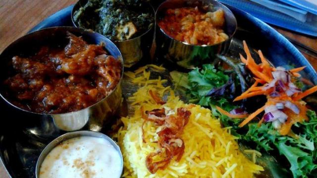 Vimala's Curryblossom Café cuisine
