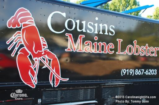 Cousins Lobster Truck Visits Bombshell Brewery