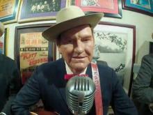 Bluegrass musician wax figures