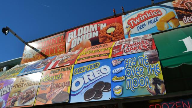 Deep Fried food is king at the State Fair