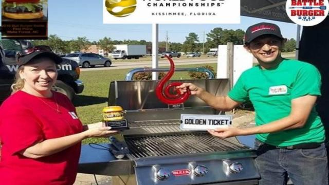 Corner Tavern and Grill won the 2015 Bull Outdoor Best Burger Battle. (Facebook)