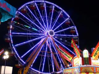 Light up the night: State Fair rides, fun