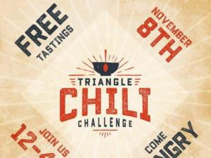 The Triangle Chili Challenge is an annual competition held in Historic Downtown Cary. Featuring local restaurants & mobile food units as they compete for the coveted title of Best Chili in the Triangle.