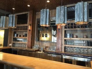 Vita Vite in downtown Raleigh is a wine bar and art gallery.