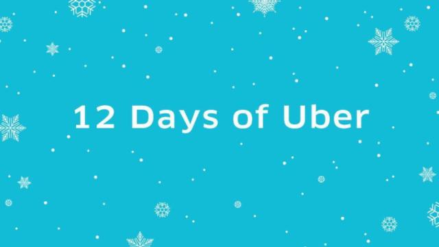 Those who contract a ride with Uber over the next 12 days have the opportunity to win prizes including tickets to concerts and sporting events, celebrity meet-and-greets, restaurant gift certificates and free rides.