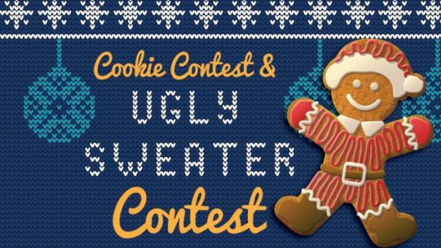 Draft Line Brewing's Ugly Sweater and Cookie Contest
