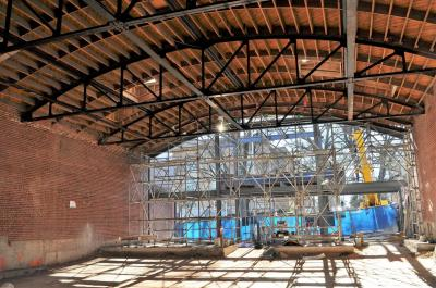 H-Street Kitchen under construction on Hillsborough Street in Raleigh. (Facebook)