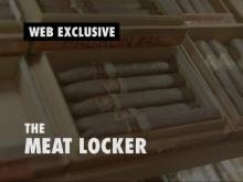 Suprises are inside meat locker at the Angus Barn
