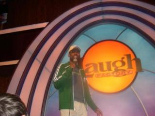 Chris Rock at the Laugh Factory (Image courtesy of the Laugh Factory)