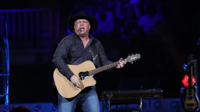 Garth Brooks played PNC Arena on March 11, 2016.