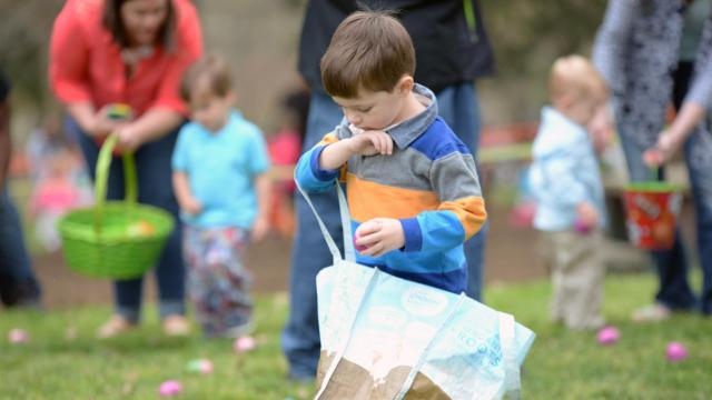 Easter Egg Hunt at Pullen Park
