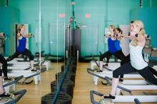 PBX Pilates Extreme is located at 11211 Galleria Ave. in Raleigh.