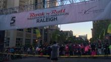 Rock n Roll marathon start