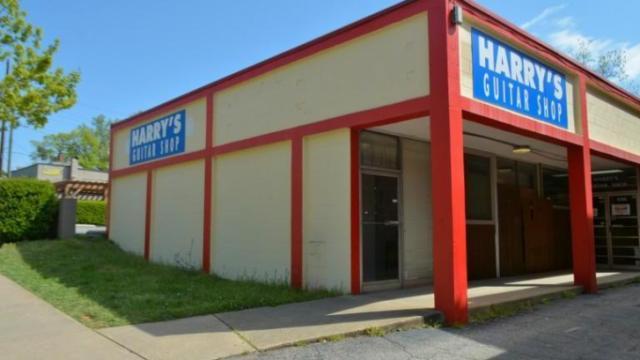 Harry's Guitar Shop (James Borden / Raleigh Public Record)
