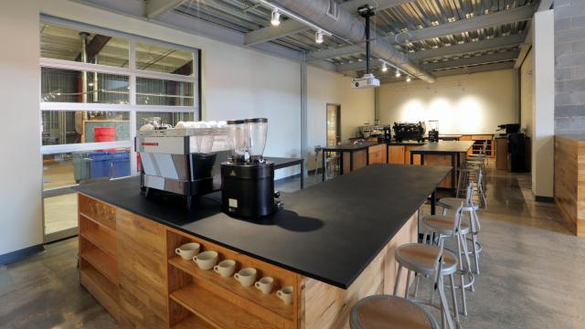 Counter Culture Coffee's new training center at its new headquarters in Durham. (Image courtesy of Counter Culture)