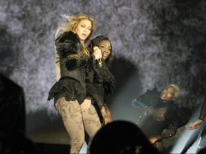 RALEIGH, NORTH CAROLINA - MAY 3: Beyonce performs during the Formation World Tour at Carter Finley Stadium on Tuesday, May 3, 2016, in Raleigh, North Carolina. (Photo by Daniela Vesco/Parkwood Entertainment)
