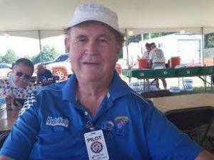 Pilot John Moran of Ohio was one of many pilots at the WRAL Freedom Balloon Fest this weekend.