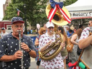 Raleigh celebrates July 4th with 'The Works'