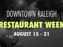 Preview of Downtown Raleigh Restaurant Week