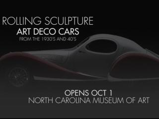 Rolling Sculpture at the NCMA