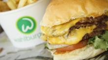 Wahlburgers double decker burger