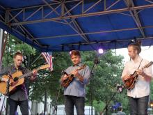 The Wide Open Bluegrass Festival took over downtown Raleigh on Oct. 1, 2016.