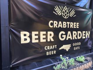 Crabtree Beer Garden