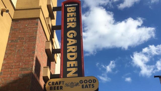 Crabtree Beer Garden