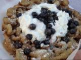 Gobblin' Gourmet serves up blueberry funnel cake