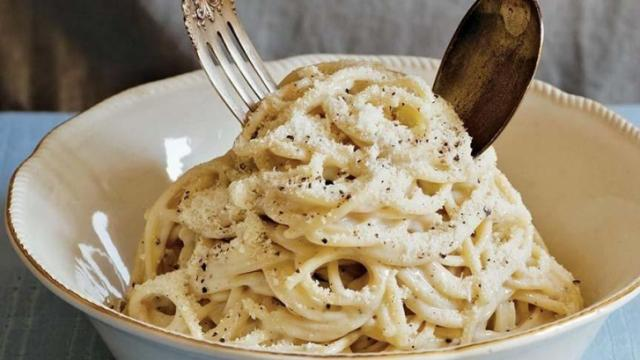 Cacio e Pepe (Courtesy of Tasting Rome)