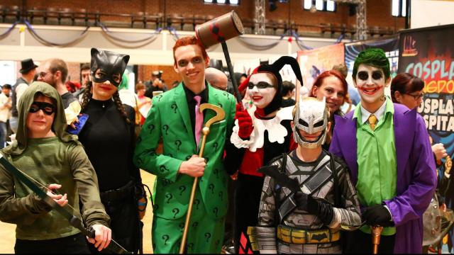 The 7th Annual NC Comicon was held at the Durham Convention Center on November 11-13, 2016 in Durham, North Carolina. (Jerome Carpenter/WRAL Contributor)