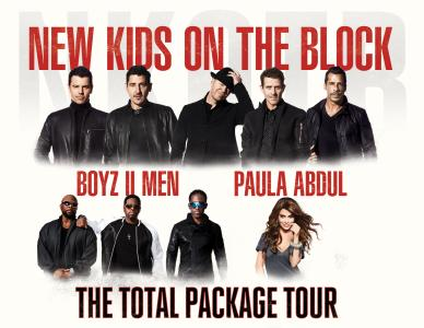 NKOTB, Boyz II Men and Paula Abdul go on tour together in 2017. (Live Nation)