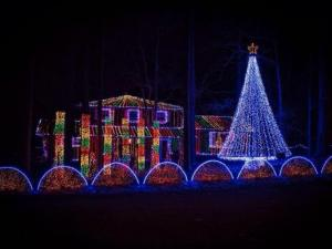 Durham man creates 'famous light show' at his family's home each Christmas