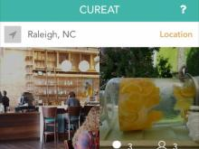 CurEat app screenshot