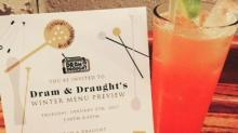 IMAGES: Dram & Draught unveils winter cocktail menu