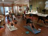 Free yoga classes at COR Museum offer refuge from daily stress