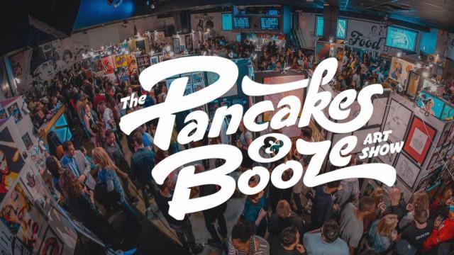 The Raleigh Pancakes & Booze Art Show