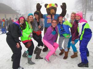 Totally 80s Retro Ski Weekend