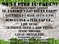 St. Paddy's Day Block Party