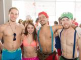 People strip down for Cupid's Undie Run