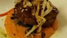 Dean Thompson pork in soy glaze