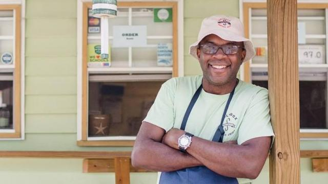 Saltbox Seafood owner Ricky Moore (Facebook)