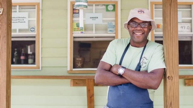 Saltbox Seafood owner Ricky Moore (Facebook)