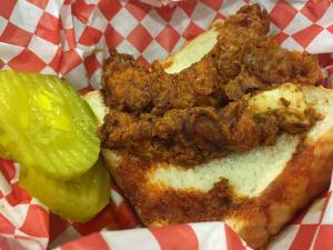 Nashville-style hot chicken