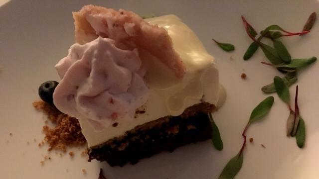 Triple layer cake