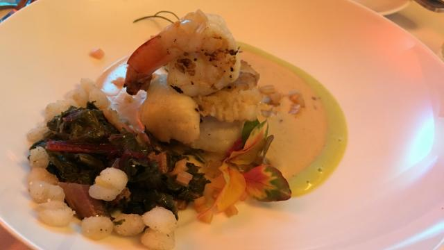 Catfish roulade