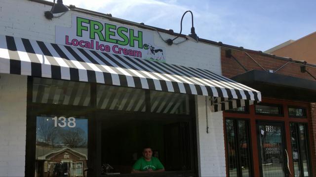Fresh Local Ice Cream