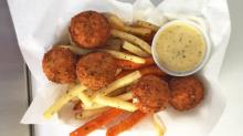 IMAGE: Fried and filled: Fully Loaded Fritters adds a new taste to Triangle food truck scene