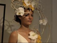 Flower fashion show highlights Art in Bloom